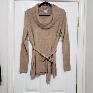 EUC Cowl Neck Sweater Size XL